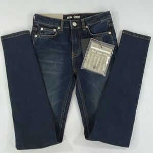 NWT - BLK DNM NYC SUTTER BLUE SKINNY JEANS - 24/30